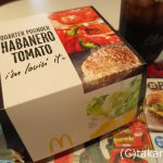 マクドナルドのBLTとハバネロトマト