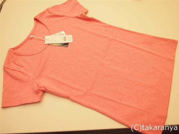 汗じみ対策クルーネックTシャツ