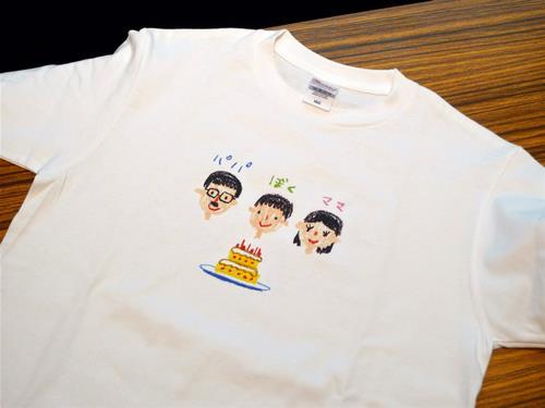 こどもの絵のTシャツ