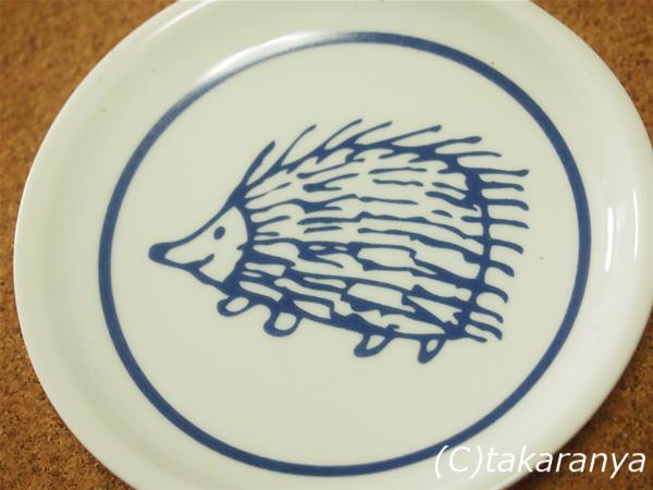 リサ・ラーソンの豆皿ハリネズミ