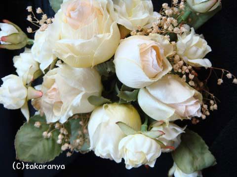 100108卒業式・入学式に可愛い花れんのコサージュ