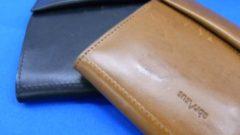 使い込んだ革のよさを感じたい方に!薄い財布ブッテーロレーザーエディション!