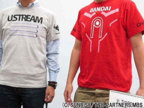 TIGER & BUNNY Ustream Tシャツ