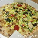 ナポリの釜:ムール貝とイタリア野菜のバジルソース+炭火焼きチキンとイタリア野菜