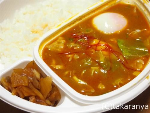 ココイチ豆腐チゲカレー
