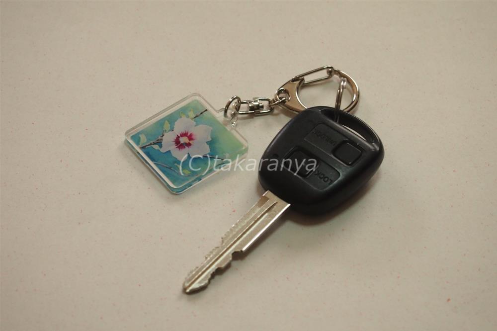 4cmキーホルダーは車のキーホルダーに使用