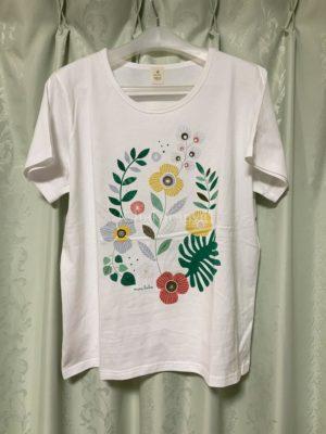 ミニラボホワイト花柄
