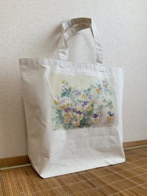 透明水彩トートバッグ